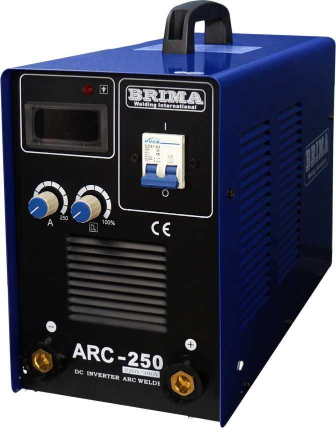 Сварочный инвертор BRIMA ARC 250 (220/380)
