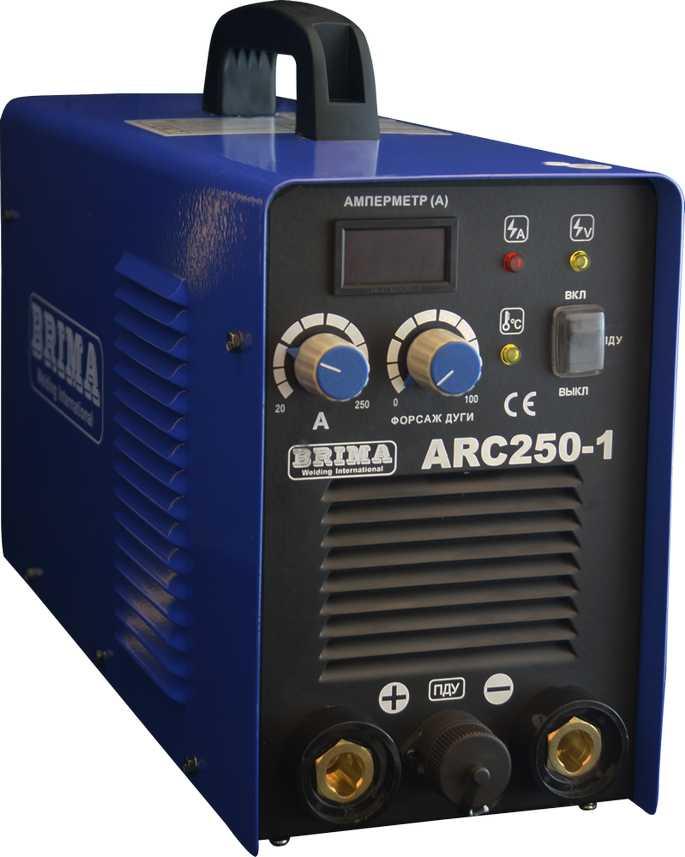 Сварочный инвертор BRIMA ARC 250-1 (380)