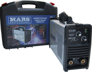 Сварочный инвертор MARS 3000 Professional в кейсе
