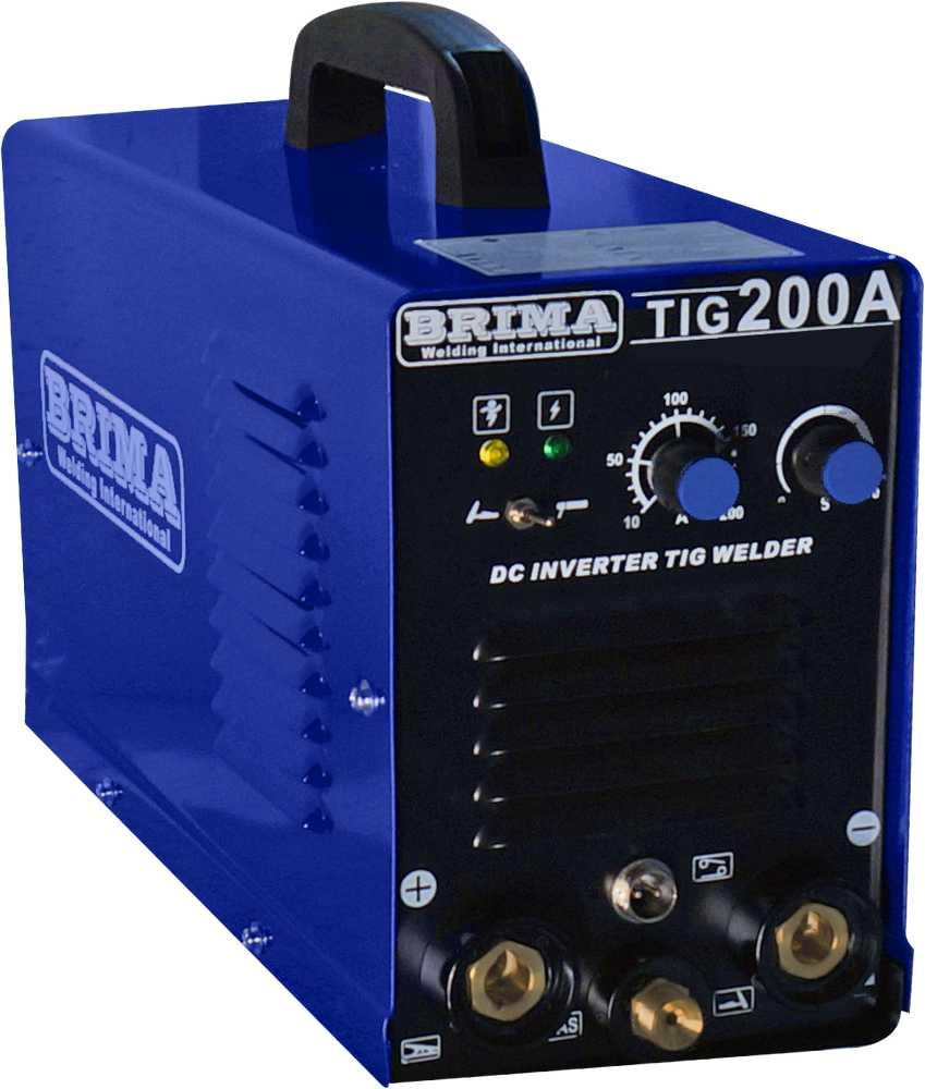 Сварочный аргонодуговой инвертор Brima TIG DC TIG 200A