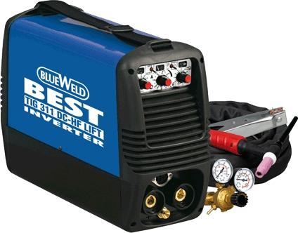 Сварочный аргонодуговой инвертор BlueWeld Best Tig 311 DC HF/Lift (816328)