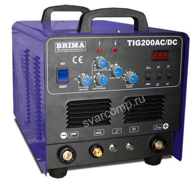 Сварочный аргонодуговой инвертор BRIMA TIG 200 AC/DC