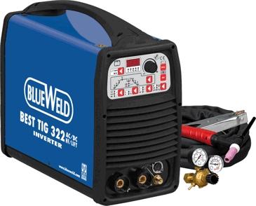 Сварочный аргонодуговой инвертор BlueWeld Best TIG 322 AC/DC HF/Lift (816311)