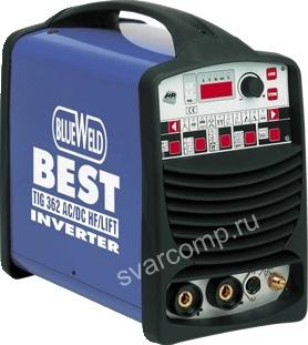 Сварочный аргонодуговой инвертор BlueWeld Best Tig 422 AC/DC HF/Lift (816313)