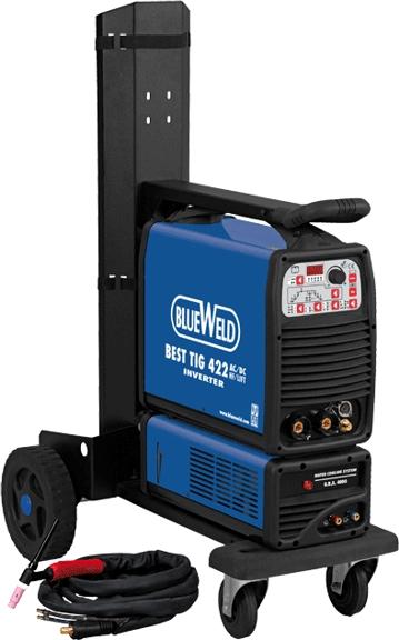 Сварочный аргонодуговой инвертор BlueWeld Best TIG 422 AC/DC HF/Lift RA (816314)