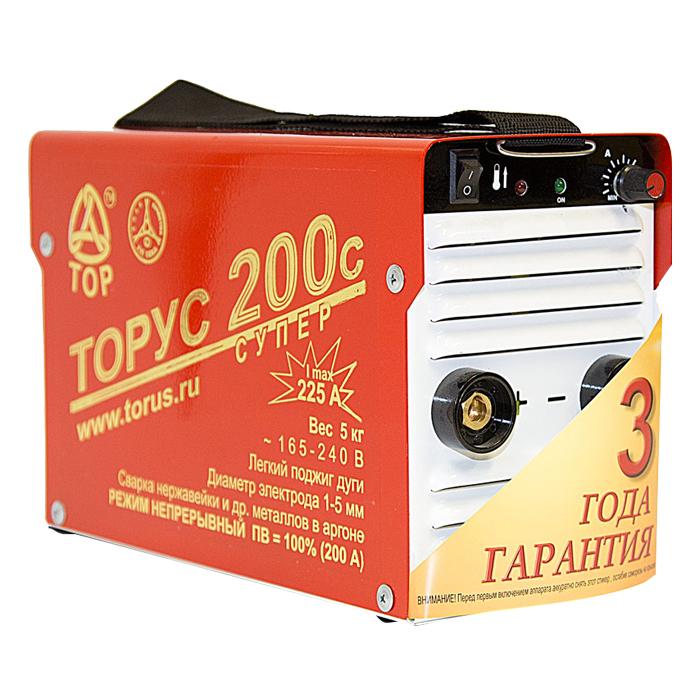 Сварочный инвертор ТОРУС 200с Супер
