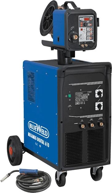 Сварочный полуавтомат Megamig Digital 610 R.A.Synergic (822474)