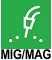 Полуавтоматы - Горелки MIG (штырьевые)