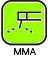 Инверторы ручной сварки MMA DC (220В) - Инверторы ММА серии TECH