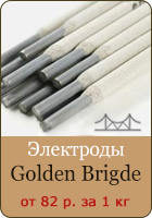 Баннер. Электроды Golden Bridge
